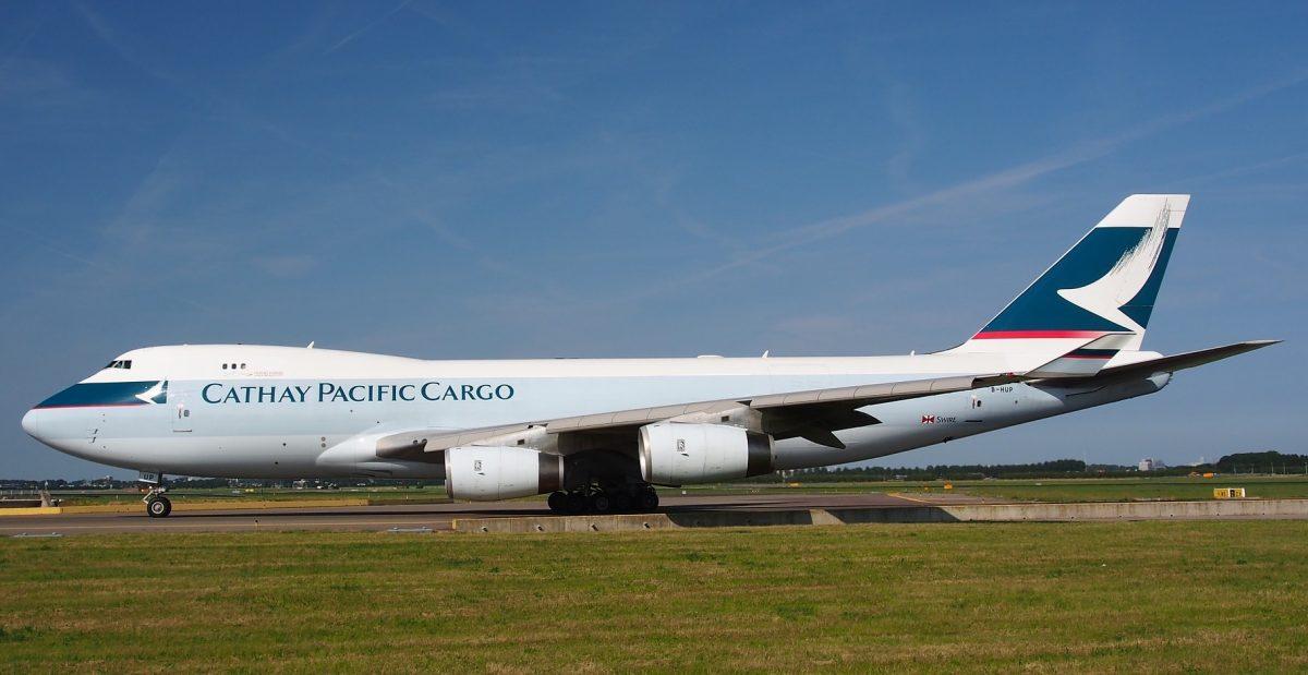 літак Cathay Pacific