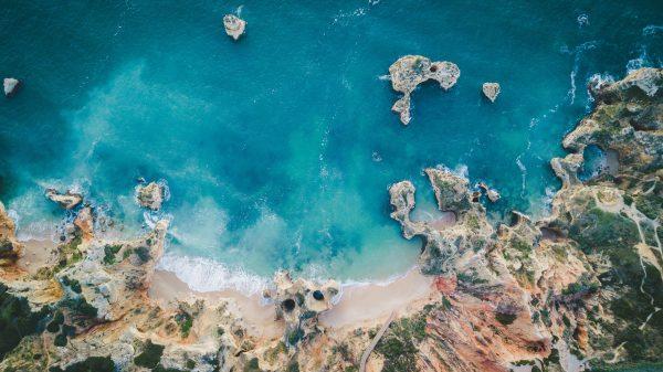 Португалія Алгарве океан