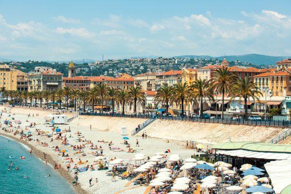 Франція Ніцца Лазурний берег