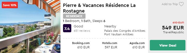 Pierre & Vacances Résidence La Rostagne