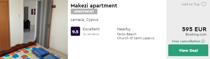 Makezi apartment