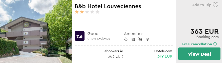 B&b Hotel Louveciennes