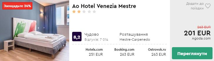 Ao Hotel Venezia Mestre