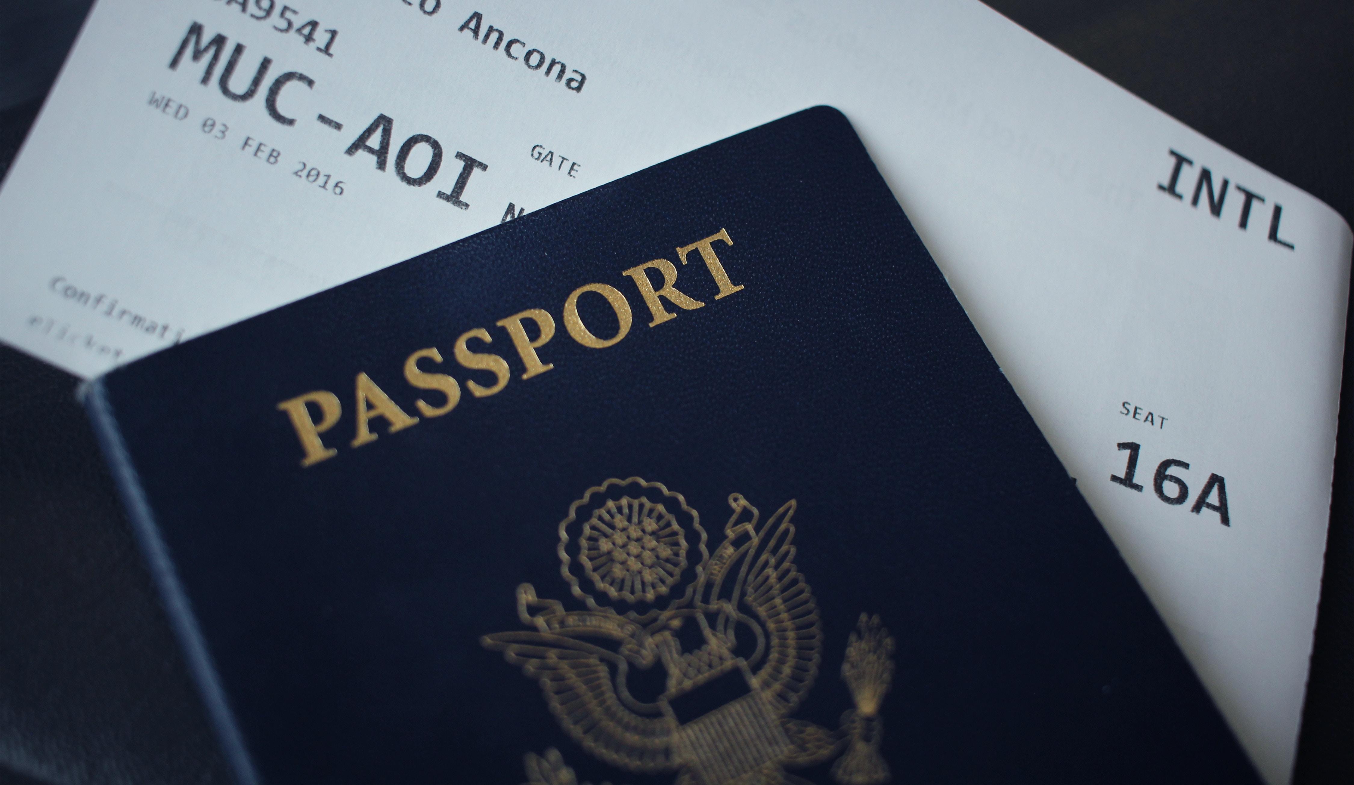Паспорт і квиток