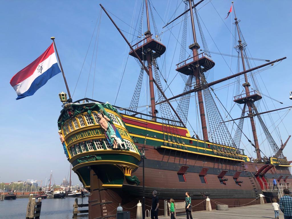 морський музей у амстердамі