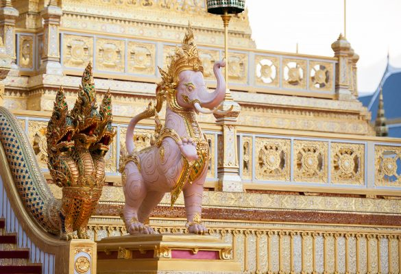 бангкок статуя розовий слон