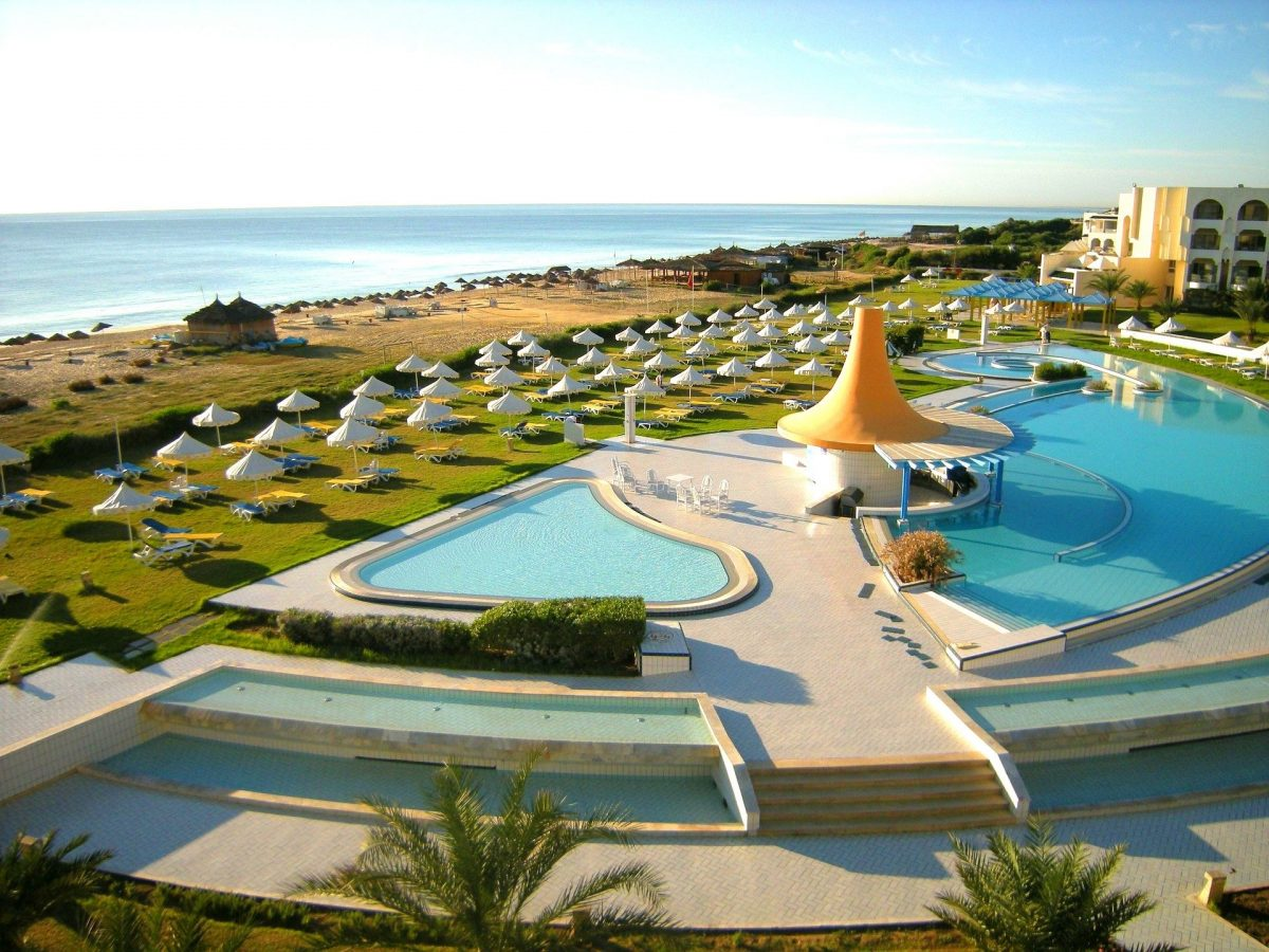 туніс готель пляж