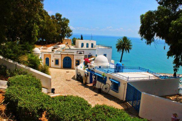 туніс архітектура море