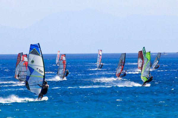 Греція море серфінг