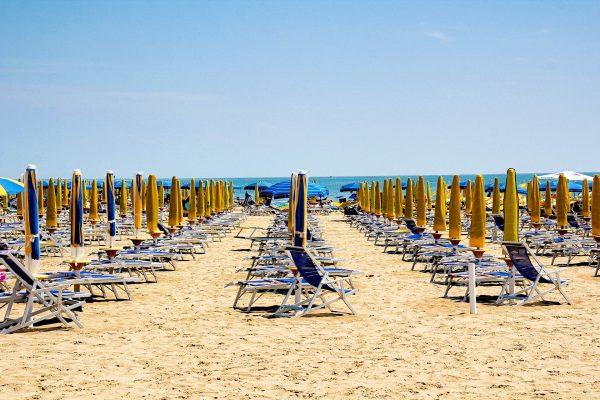 Італія Ріміні пляж