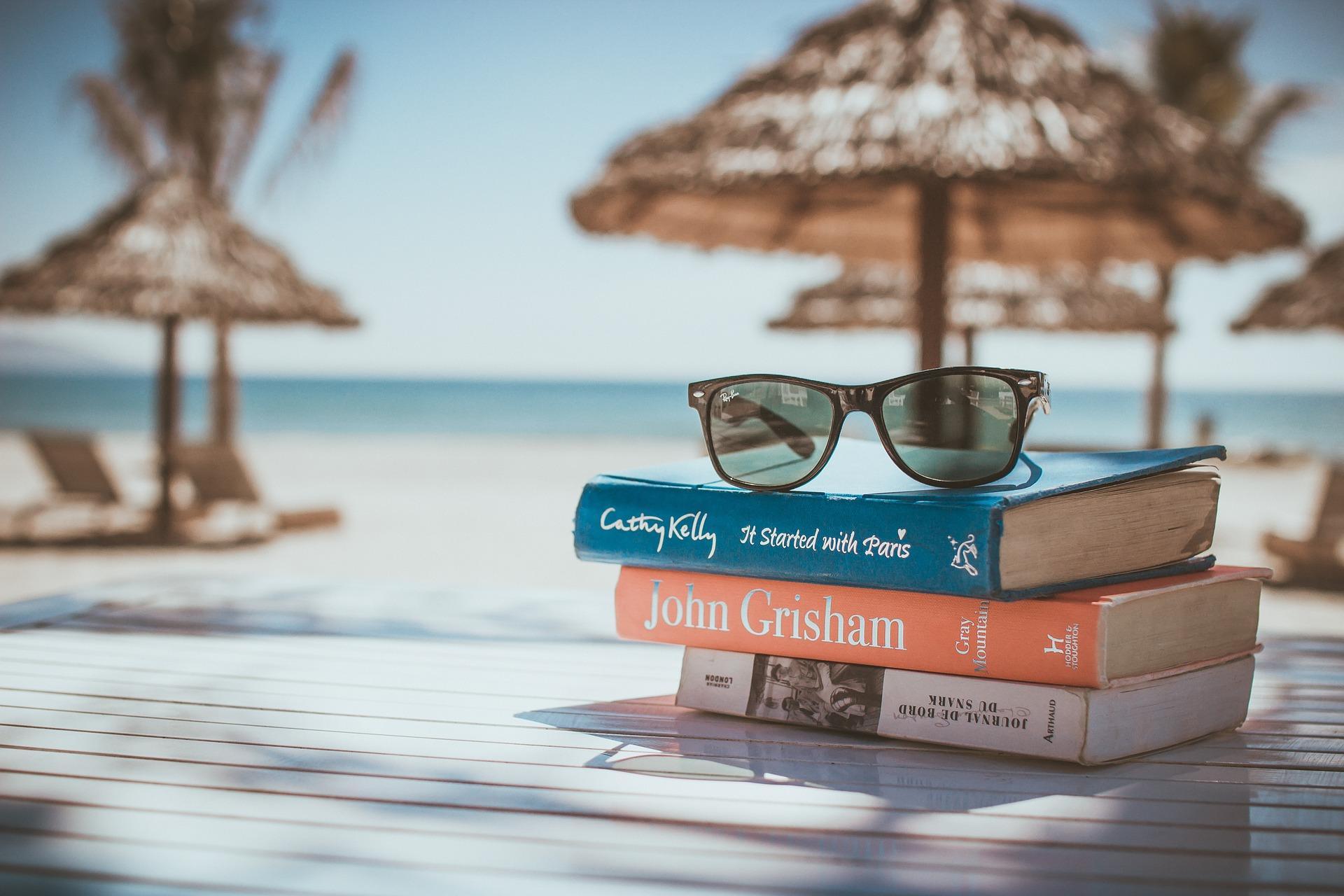 Подорож острів книги окуляри