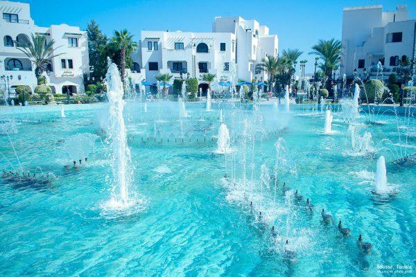 Туніс готель фонтан