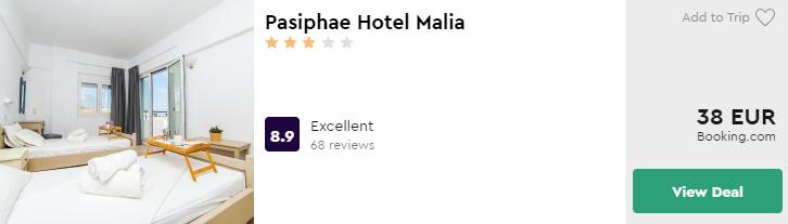 Pasiphae Hotel Malia