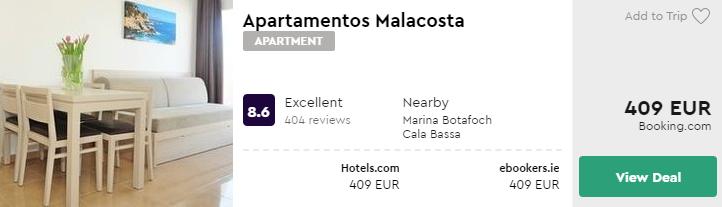 Apartamentos Malacosta