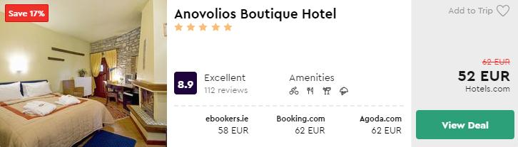 Anovolios Boutique Hotel