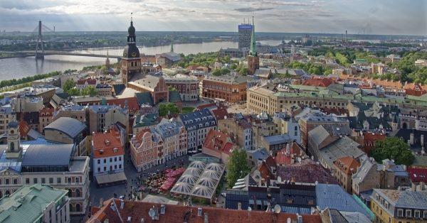 ріга панорама міста