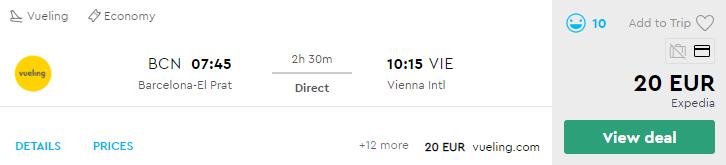 Барселона - Відень