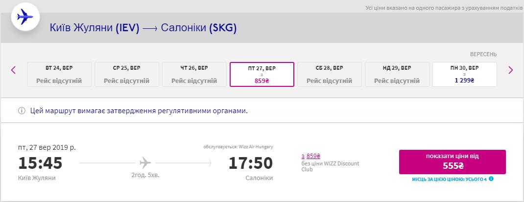 Київ - Салоніки
