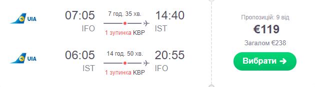 Івано-Франківськ - Стамбул - Івано-Франківськ >>