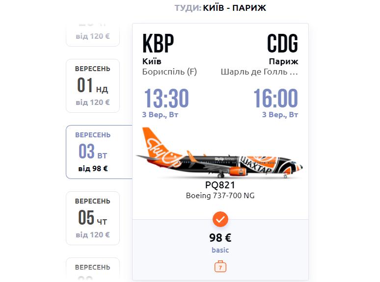 Київ - Париж