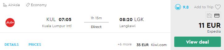 Куала-Лумпур - Лангкаві