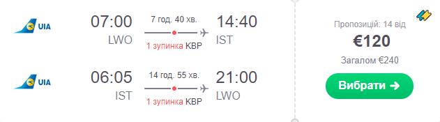 Львів - Стамбул - Львів >>