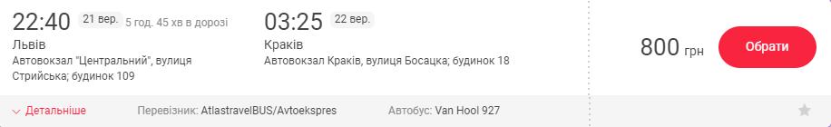 Львів – Краків