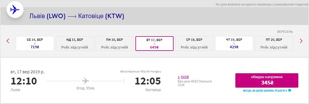 Львів – Катовіце