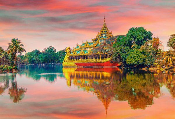 м'янма човен