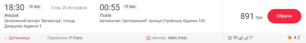 Ряшів - Львів