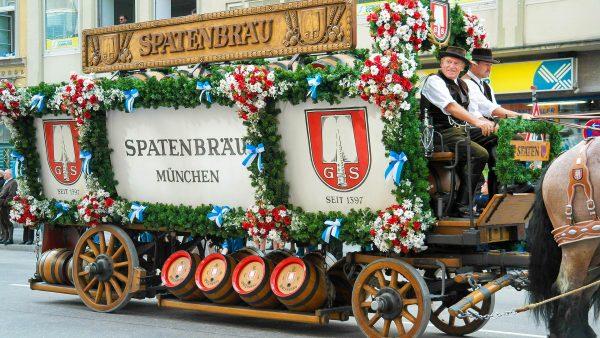 Німеччина Мюнхен октоберфест