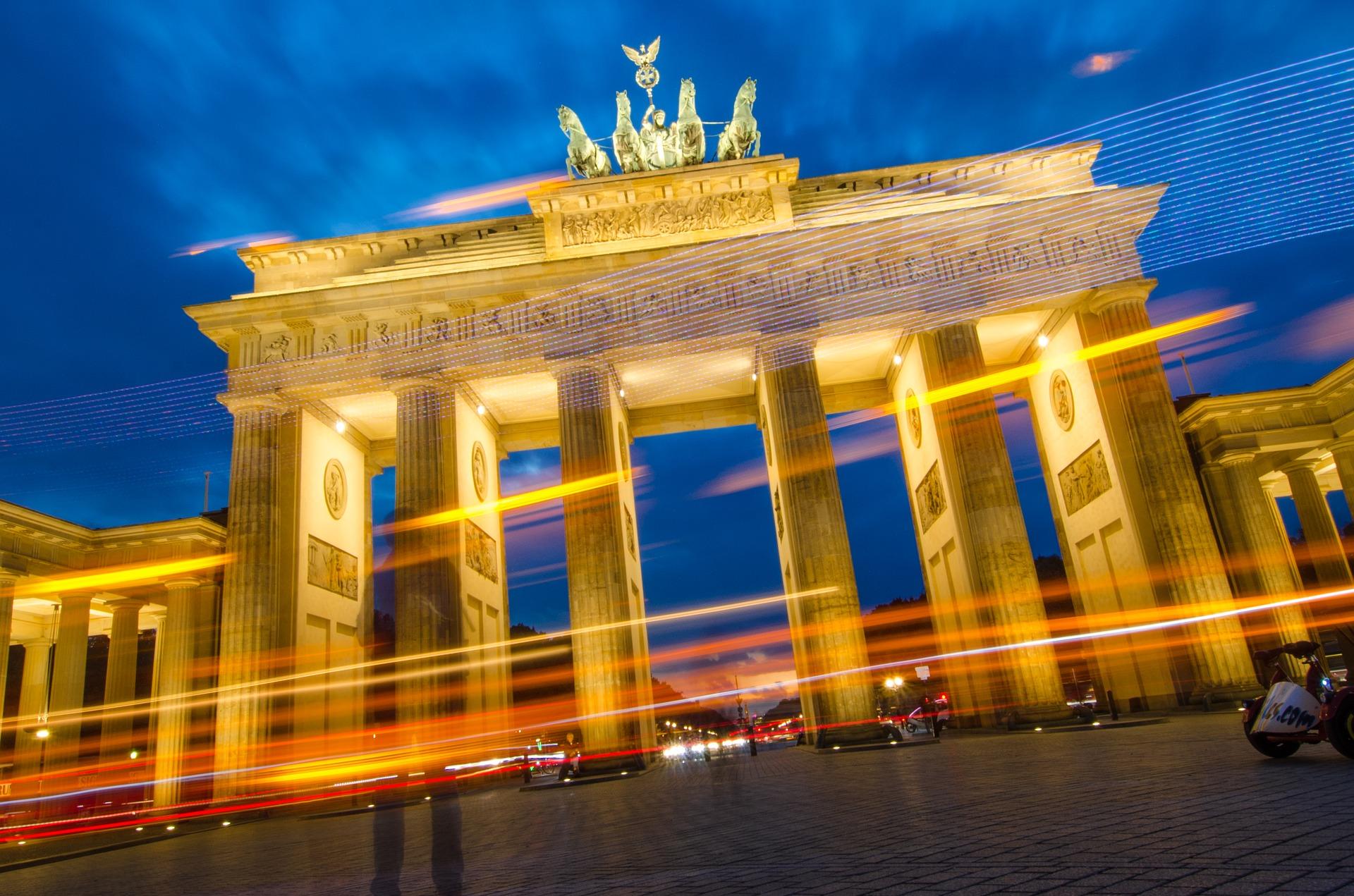 Німеччина Берлін Бранденбурзькі ворота