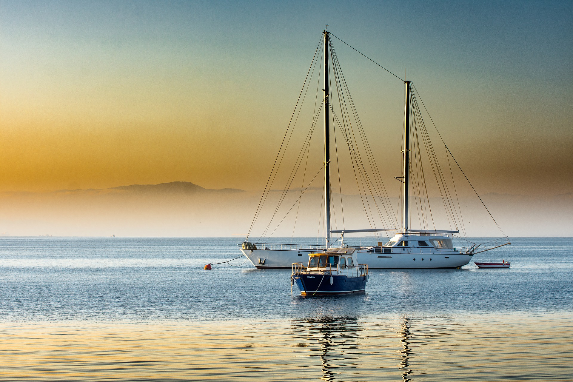 Туреччина море яхта
