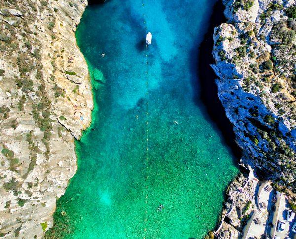 Мальта море бухта