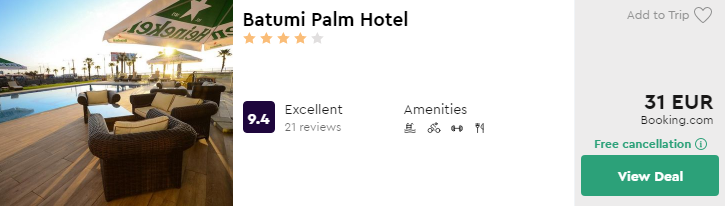 Batumi Palm Hotel