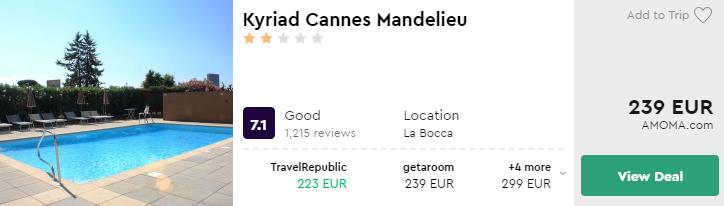Kyriad Cannes Mandelieu