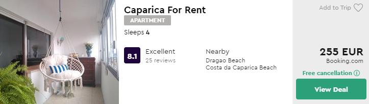 Caparica For Rent