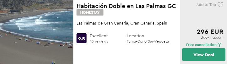 Habitación Doble en Las Palmas GC