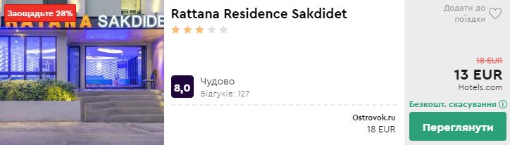 Rattana Residence Sakdidet