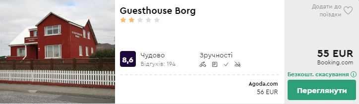 Guesthouse Borg