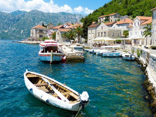 Чорногорія Которська затока Пераст