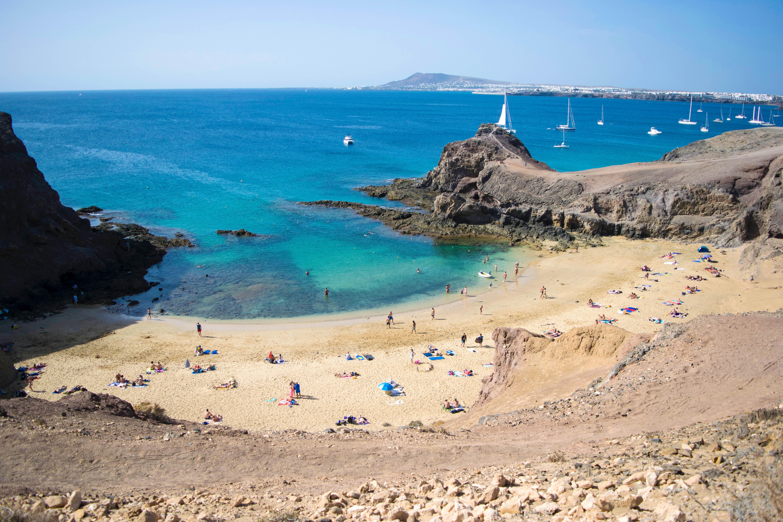 лансароте пляж
