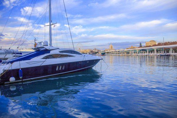 Іспанія Коста дель Соль Малага яхта
