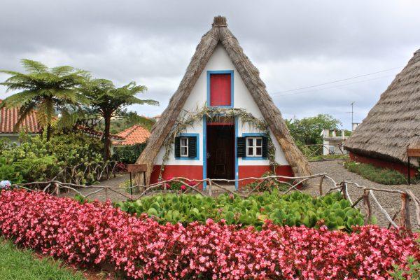 мадейра різнокольоровий дом
