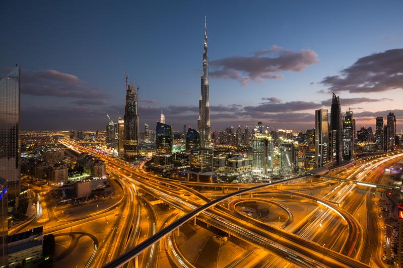 Burj Khalifa в Дубаю