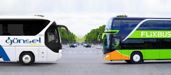 Автобуси FlixBus і Gunsel