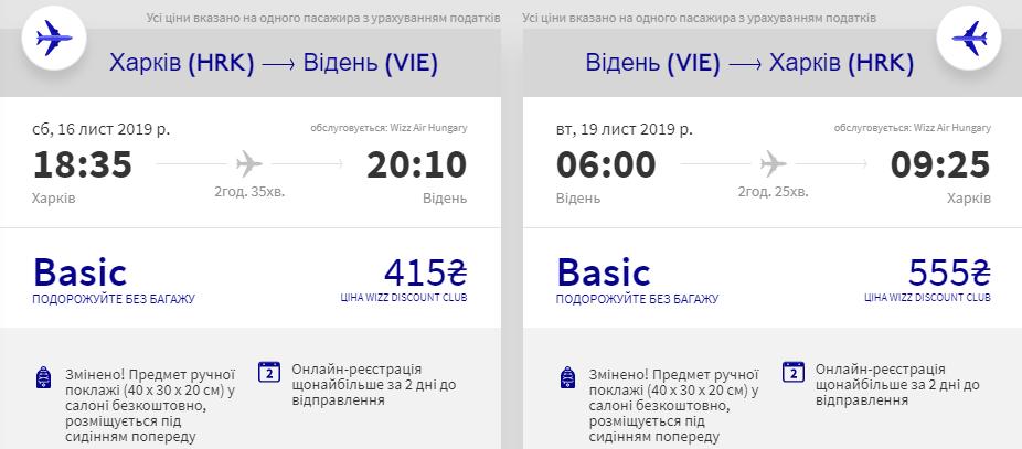 Харків - Відень - Харків