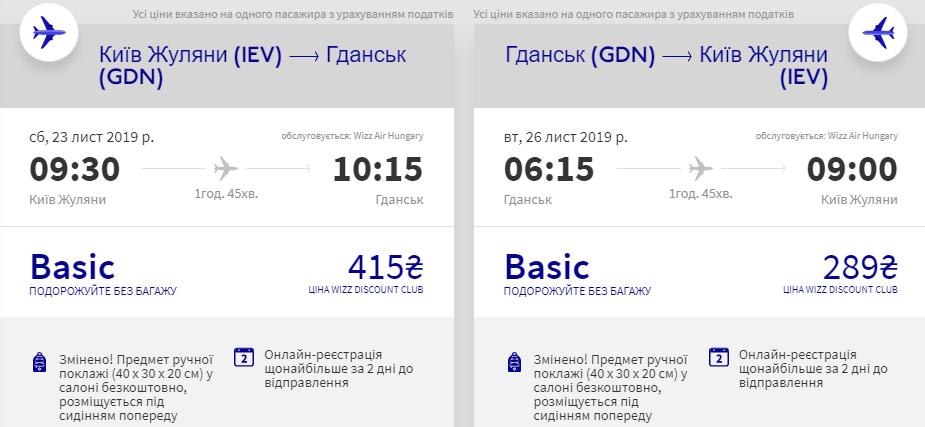 Київ - Гданськ - Київ