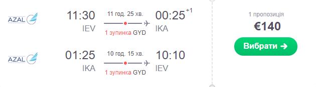 Київ – Тегеран – Київ