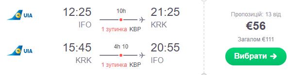 Івано-Франківськ - Краків -Івано-Франківськ